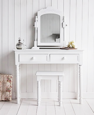 White Dressing Table Tables From The White Lighthouse