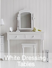 The White Lighthouse Dressing Tables, mirrors and bedroom